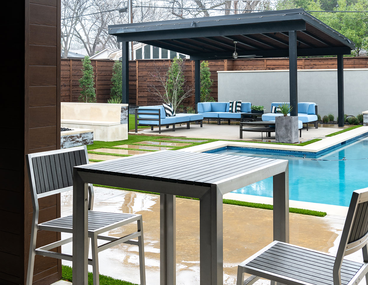 Modern Style Meets Functional Outdoor