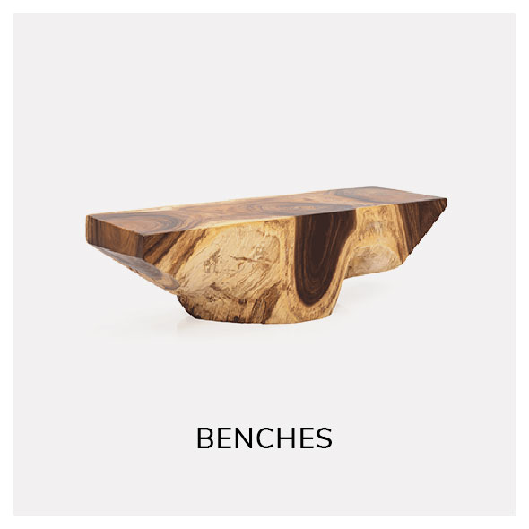 shop vintage benches and stools