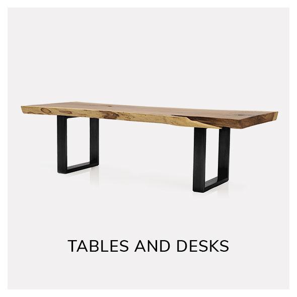 shop vintage tables and desks