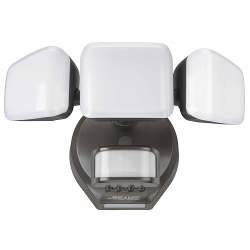Pro 3-Head Motion Security Light with Cascading Wall Wash
