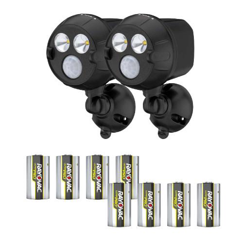 Mr Beams® NetBright® UltraBright LED Spotlight with Batteries, Set of 2