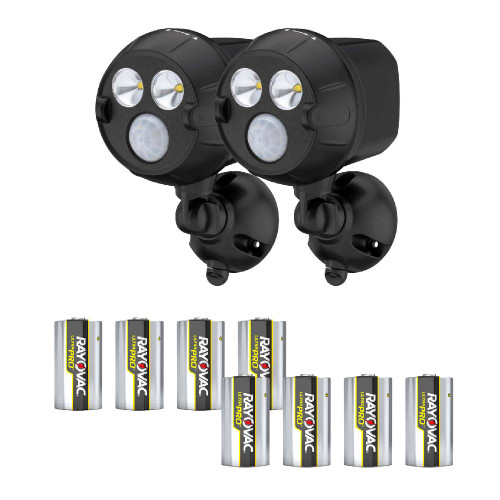 Mr Beams® NetBright® UltraBright LED Spotlight with Batteries, Set of 2