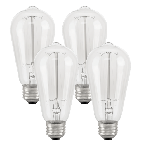 Incandescent ST58 String Light Replacement Bulbs (4)