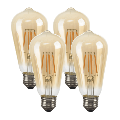 LED ST58 String Light Replacement Bulbs (4)