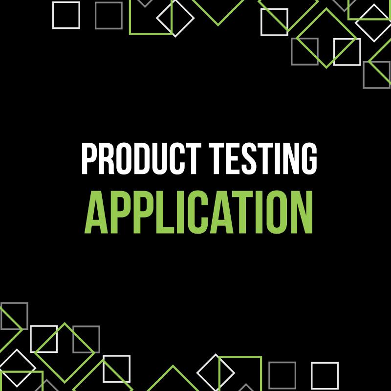 Mr Beams Product Testing Application