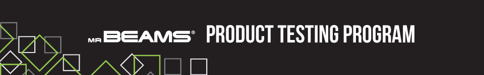 Product Testing Banner