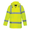 PortWest Class 3 Hi Vis Yellow Waterproof Traffic Jacket  ## US160 ##