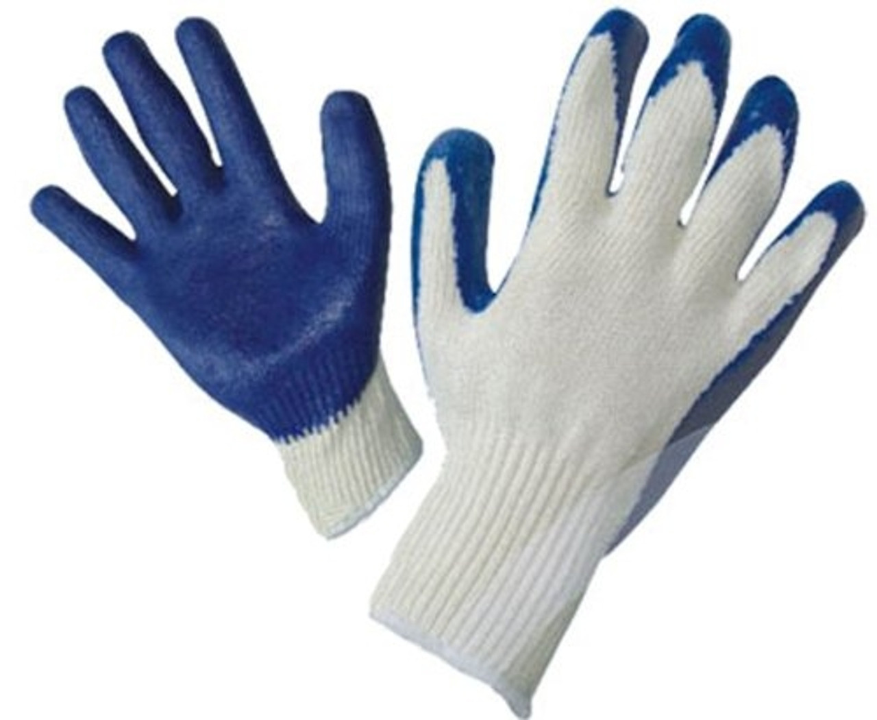 Economy Rubber Palm Coated Gloves