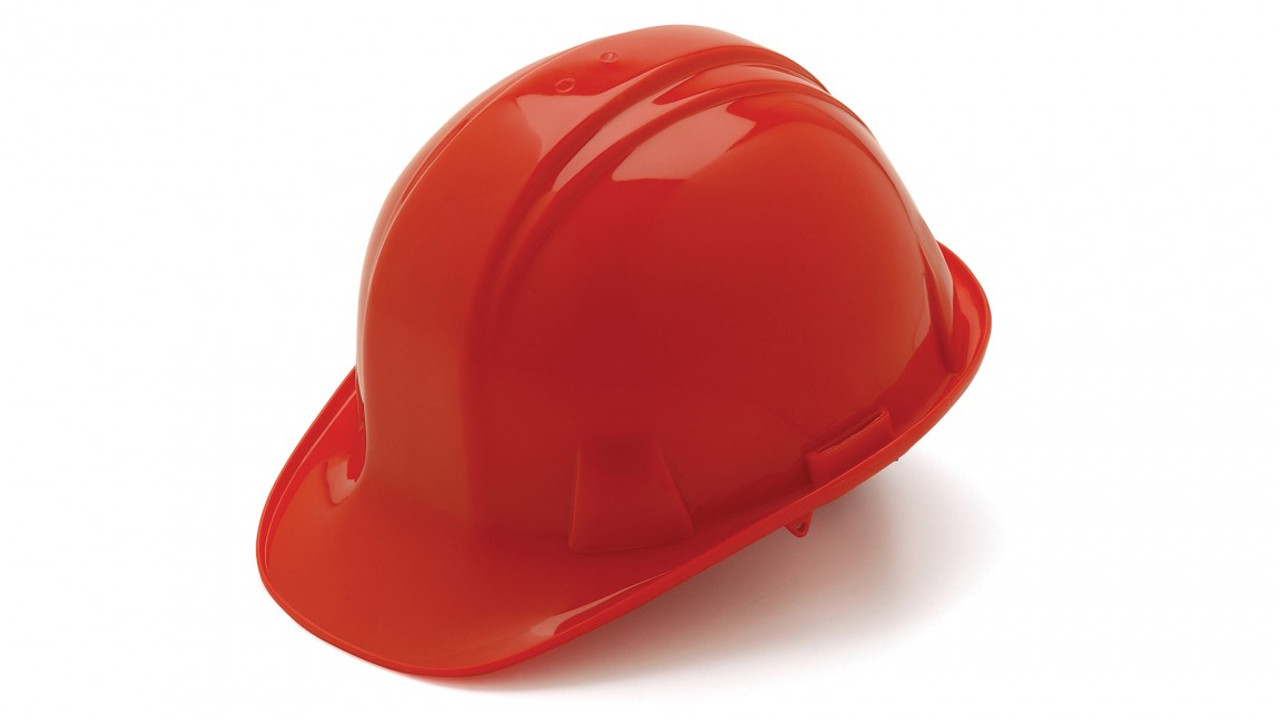Pyramex® Cap Style Hard Hats - Red