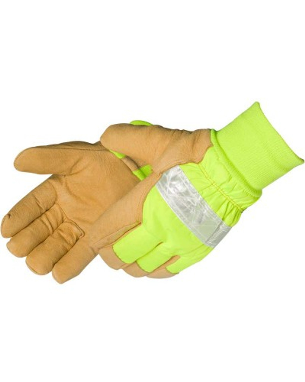 Durawear Thermal Lined Waterprood Premium Grain Pigskin with Reflective Knuckles