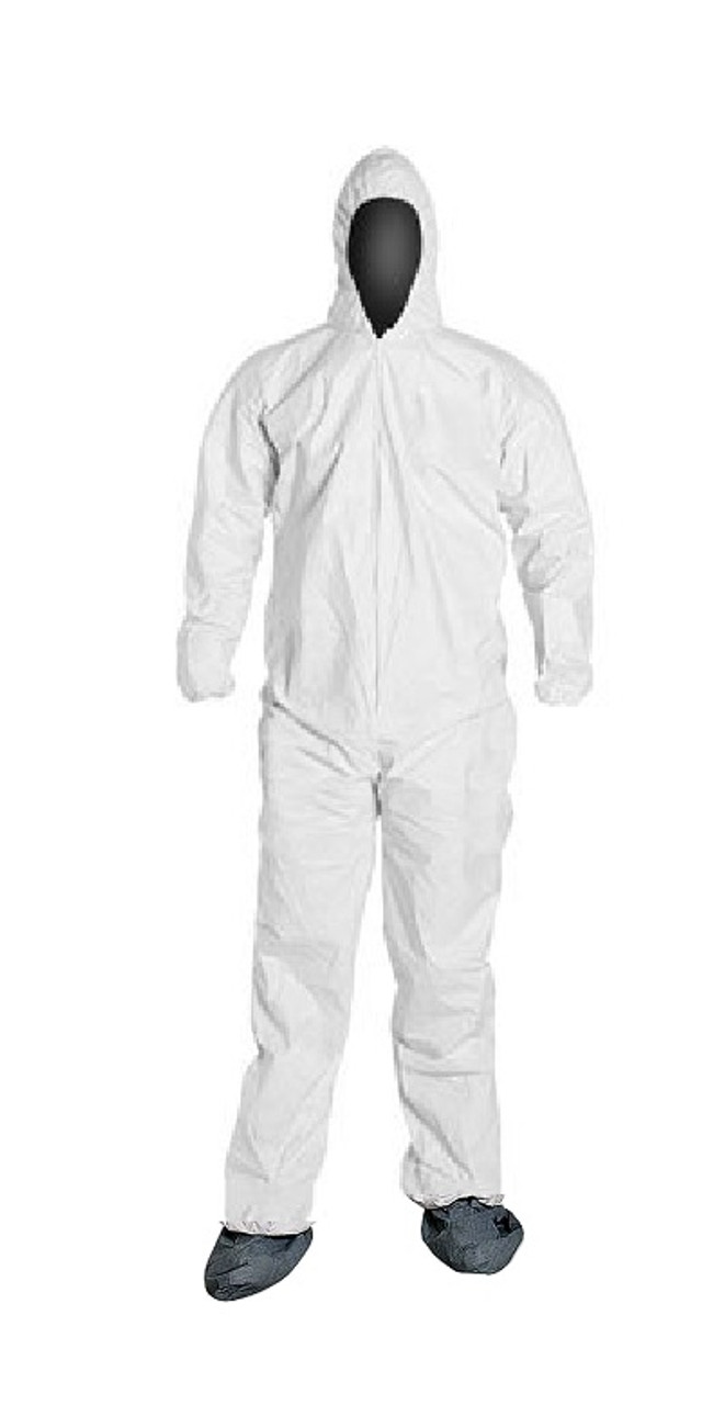 Liberty PureGard Disposable Suits with Hood and Boots - 17122 - Case of 25 suits
