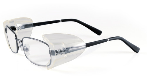 Flexible High Impact Side Shields with Glasses (Not Included)