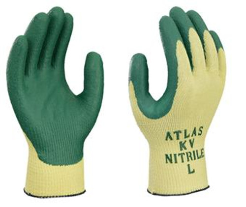 ANSI A3 - ATLAS® Nitrile Palm Coated Cut Resistant Gloves  ## KV350 ##