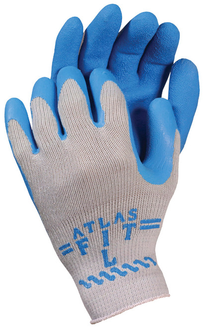 ATLAS® Fit Rubber Latex Palm Coated Gloves