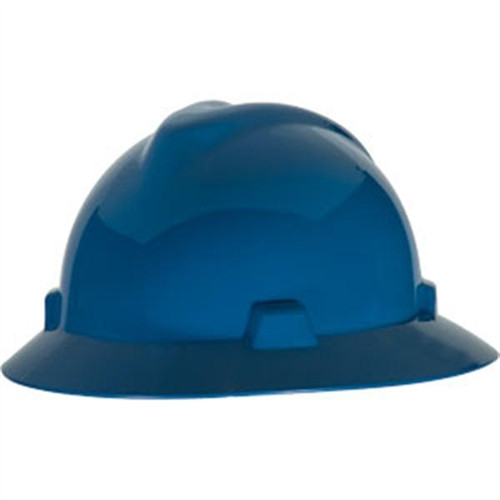 V-Gard® Full Brim Hard Hats - Navy