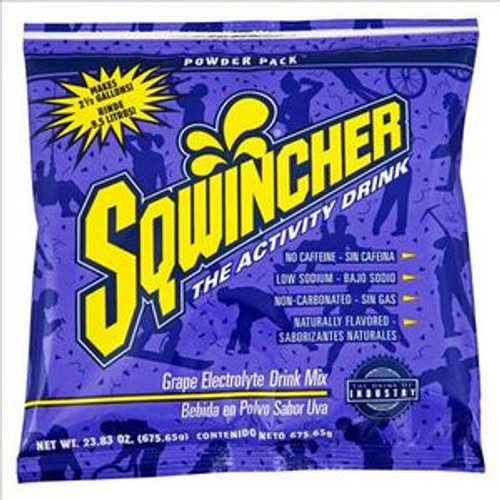 Sqwincher®  2.5 Gallon Powder Packs Grape
