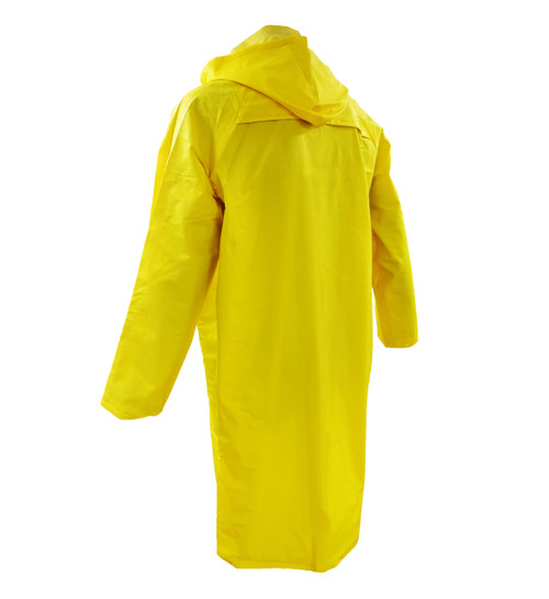 "Durawear® 48"" Yellow PVC Coats Back"