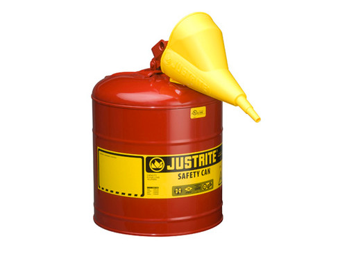 5 Gallon Type I Red Safety Can with Funnel