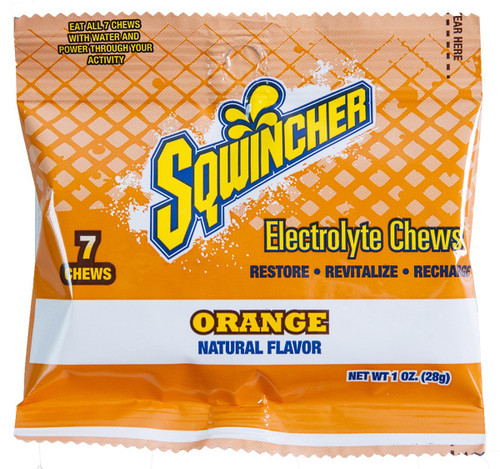 Sqwincher® Energy Chews - Orange