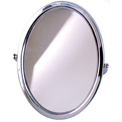 3163 Oval Mirror Chrome