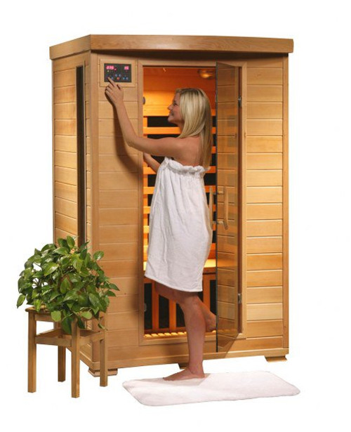 Heat Wave SA2406 Coronado 2 Person Sauna with Ceramic Heaters