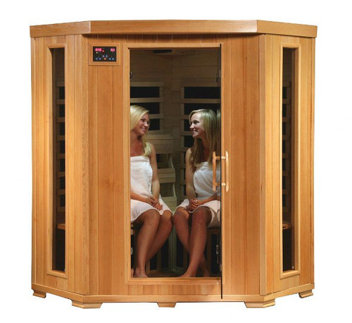 Heat Wave SA2420DX Tucson 4 Person Infrared Sauna Carbon Heaters
