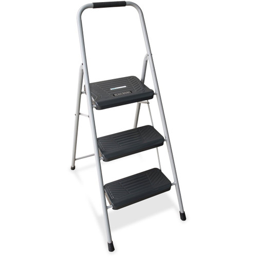 Louisville DADBXL436003 3 ft. Black & Decker Steel Step Stool Gray
