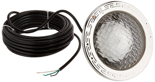 Pentair Water Pool & Spa 78428100 300W 120V Amerlite Underwater Incandescent Pool Light with Stainless Steel Face Ring