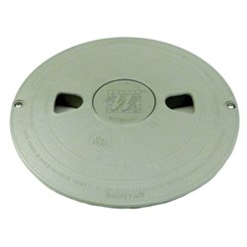Waterway Plastics WW5406477WW Renegade Skimmer Lid with Logo Assembly - Gray