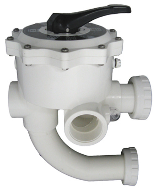 Pentair Aquatic Systems 18201-0300 Fpt Multiport Valve Plumbed 2 in.
