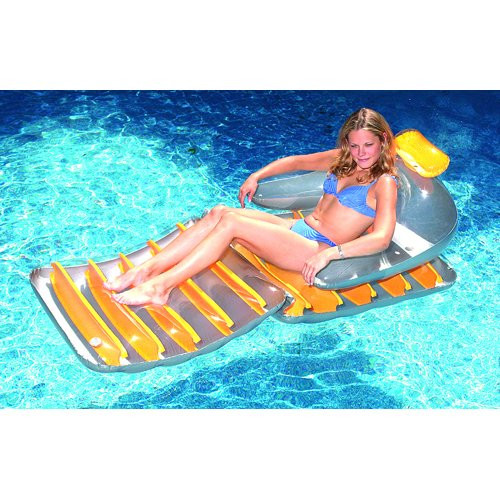 International Leisure Prod 9045SL Pool Ride On Shark Float Inflatable Toy -72 in.