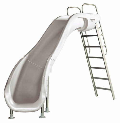 S.R.Smith 6102095822 Rogue 2 Pool Slide White - Left Curve