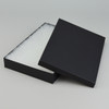 "9"" x 6"" Matte Black Cotton Filled Boxes - G96F"