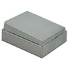 """2"""" x 1 1/2"""" silver cotton filled boxes - G11S"""