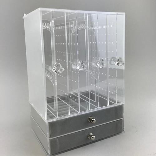 Acrylic jewelry storage box - 16-442