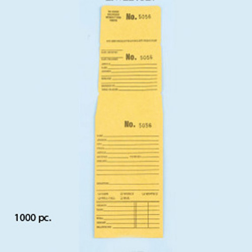 Numbered repair envelopes - EV10