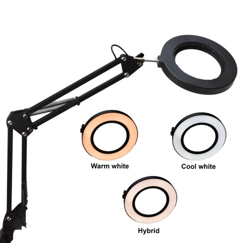 Bench Magnifier with LED lights - ML329B