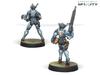 Infinity Orc Troop Pack - HMG/Boarding Shotgut RP/AF - PanOceania