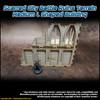 Scarred City Battle Ruins Terrain - Medium L Shaped Building