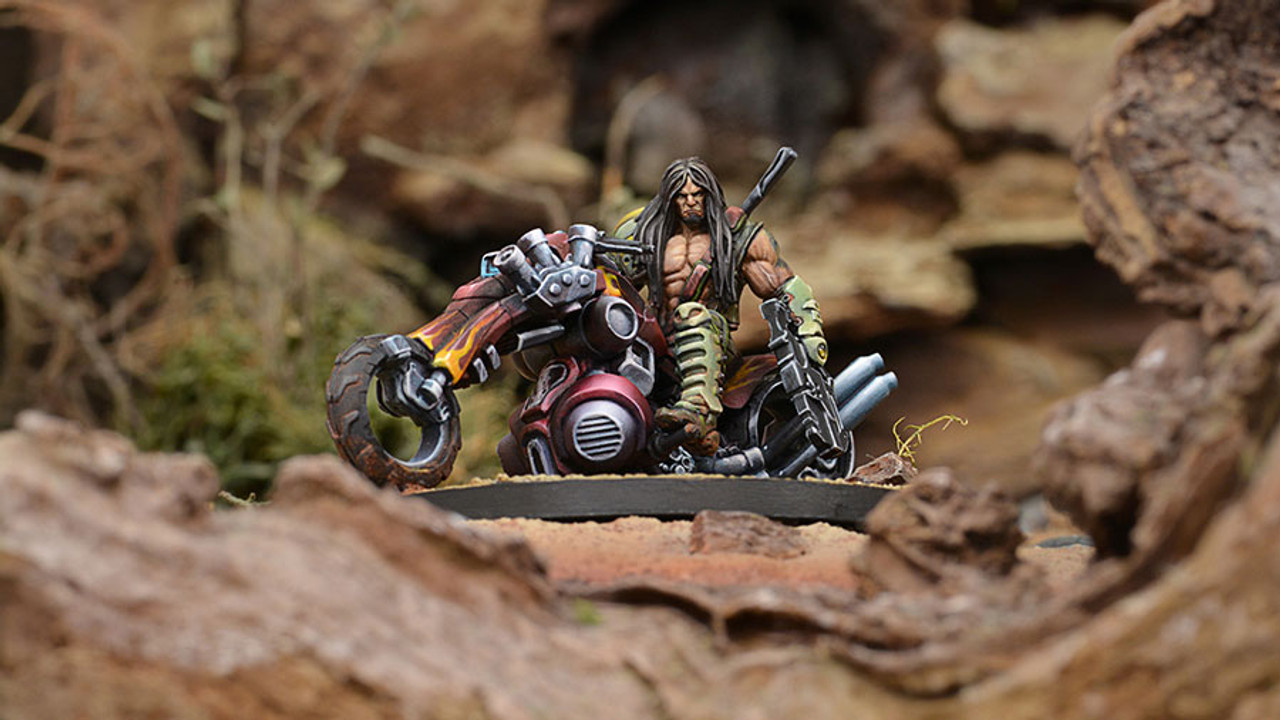 Infinity Kasym Beg, Kum Chieftain (Chain Rifle) - Haqqislam