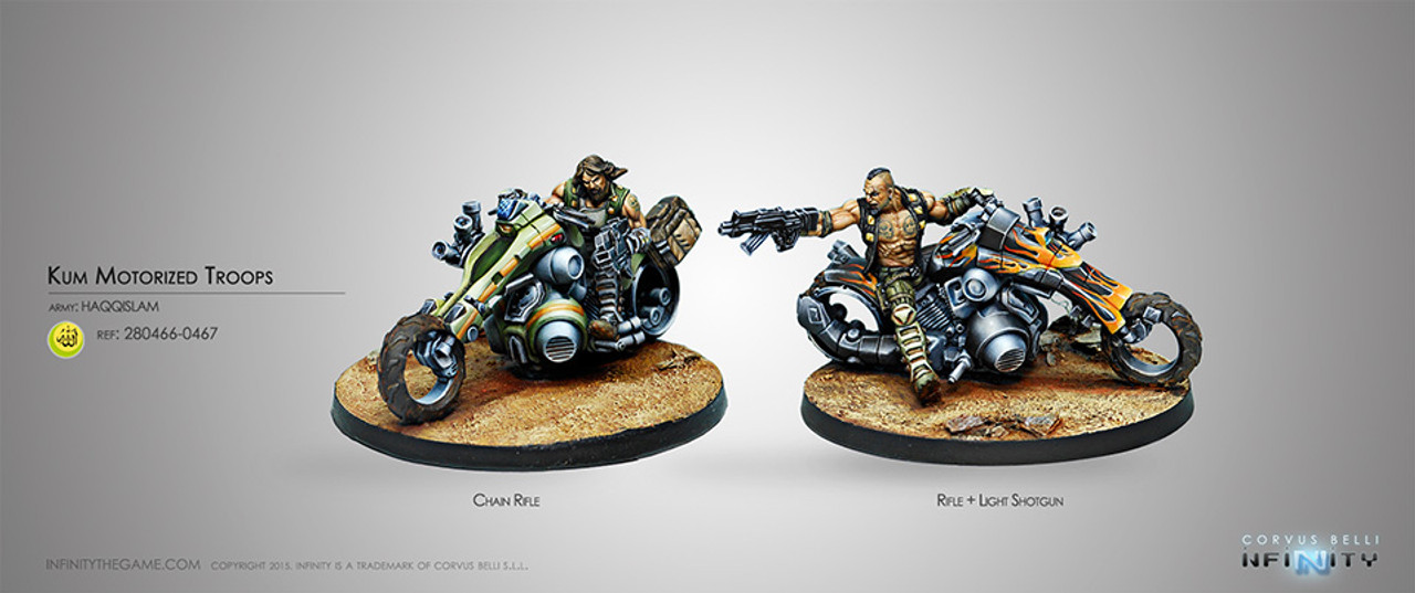 Infinity Kum Motorized Troops - Haqqislam