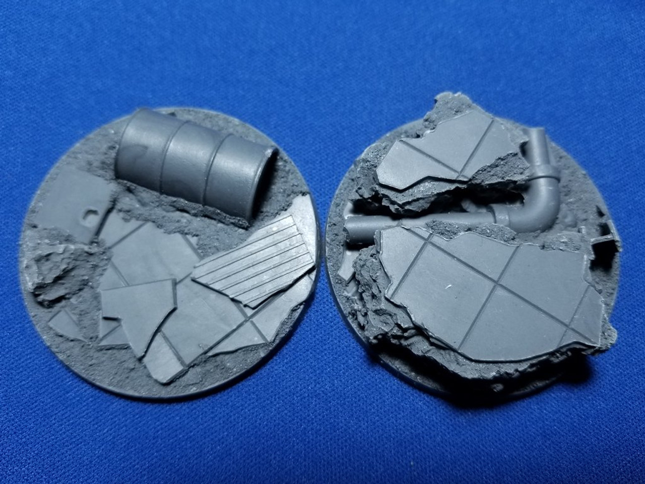 Elriks City Ruins Round Bases - 55mm - Round - 2 Pack