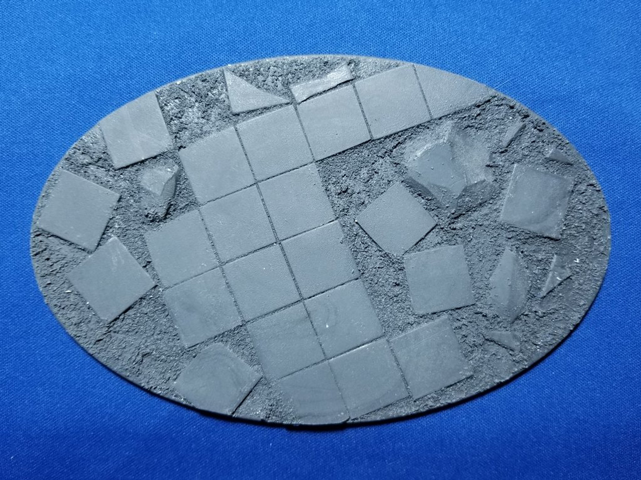 Elriks Shattered Terrace Round Bases - 170x105mm - Oval - 1 Pack