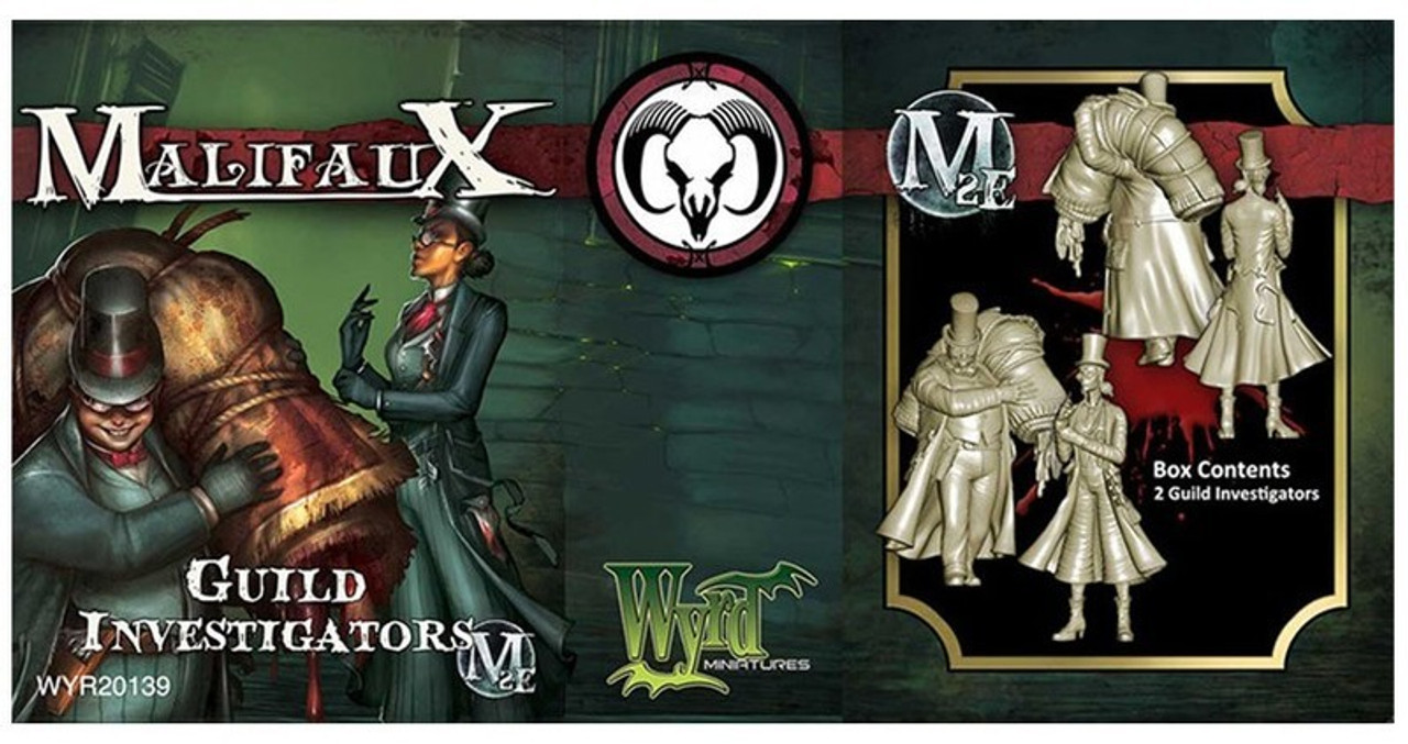 Malifaux Guild Investigator - Guild - M2E