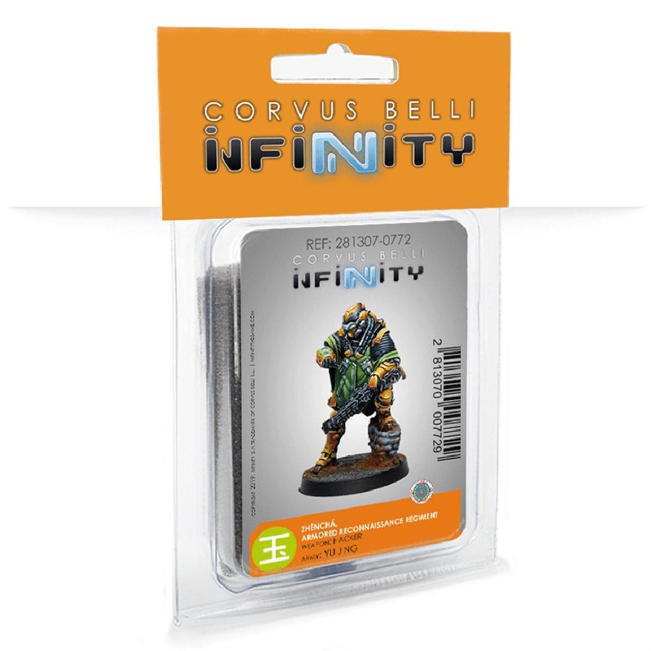 Infinity Zhencha, Armored Reconnaissance Regiment - Yu Jing