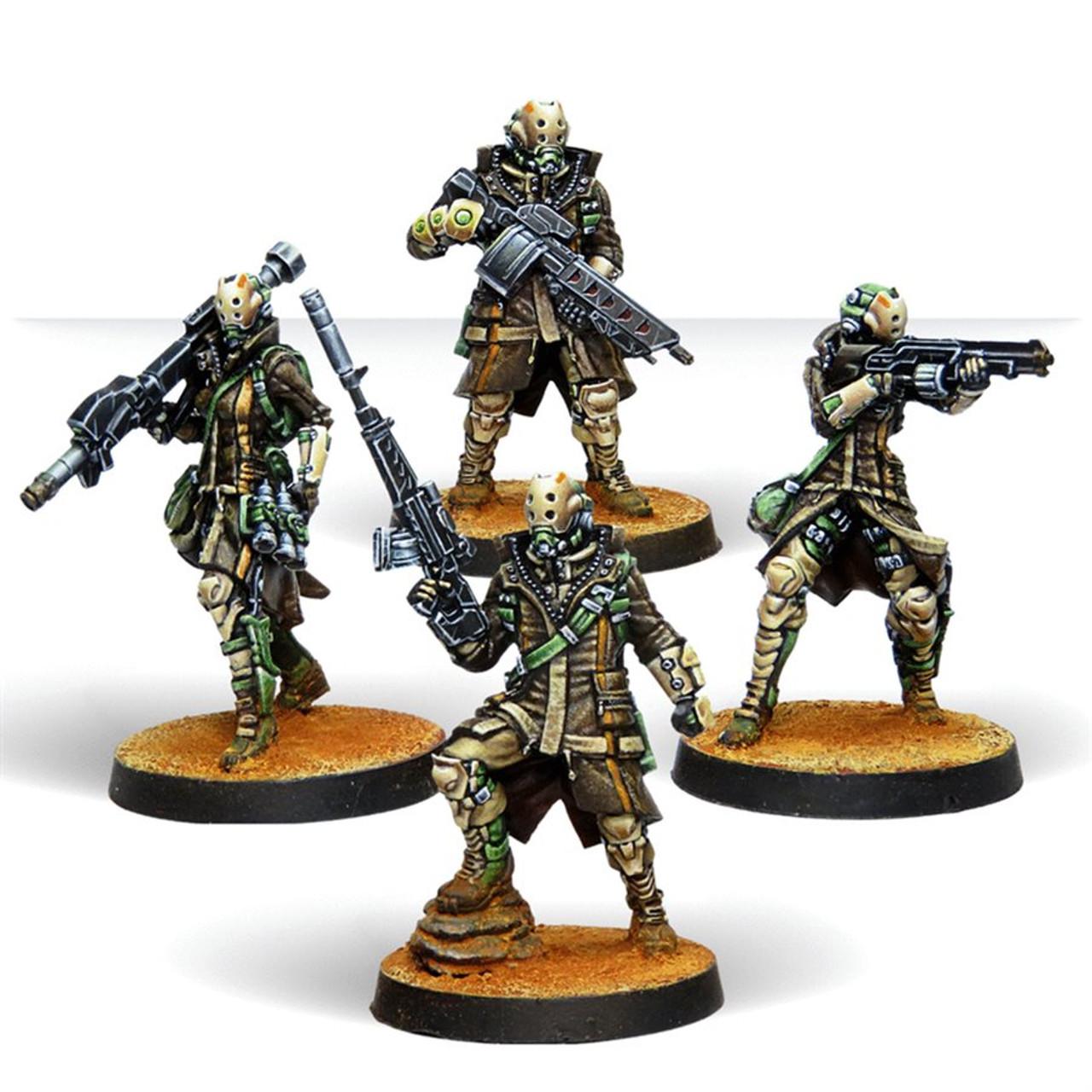 Infinity Zhayedan Intervention Troops - Haqqislam