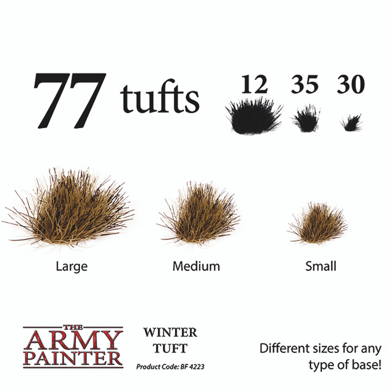 Army Painter Battlefields - Winter Tuft