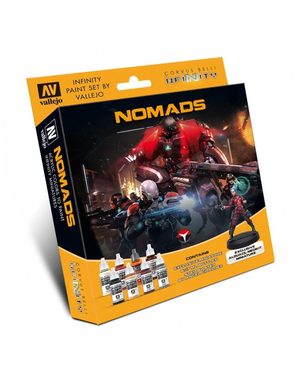 Infinity Nomads Model Color Set and Exclusive Mini