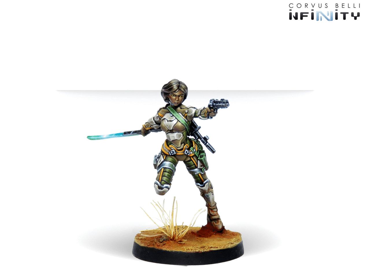 Infinity Namurr Active Response Unit (Heavy Pistol, E/M, CCW) - Haqqislam