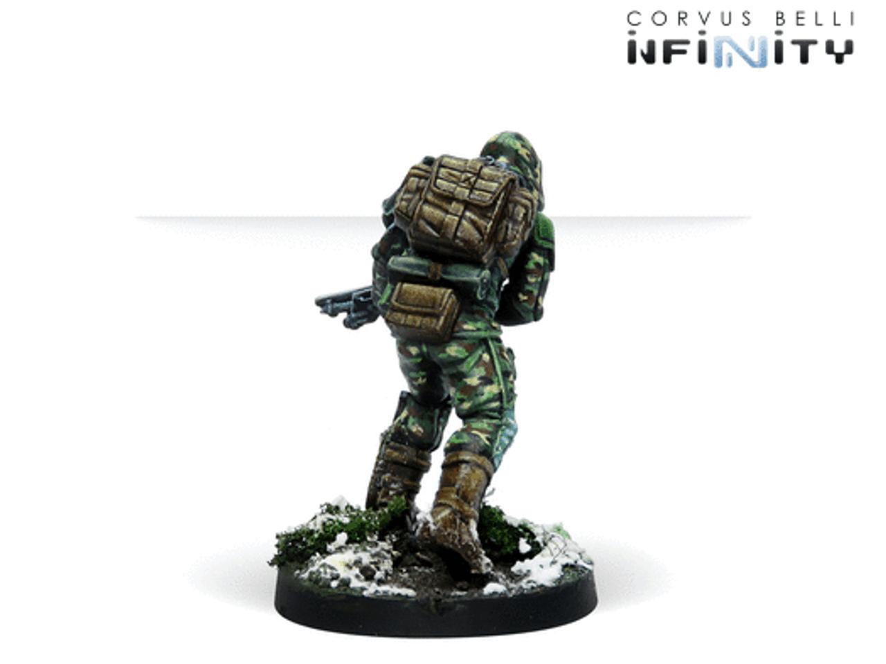 Infinity Kazak Streloks Reconnaisance Unit - Ariadna